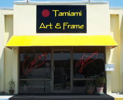 Tamiami Art and Frame store front